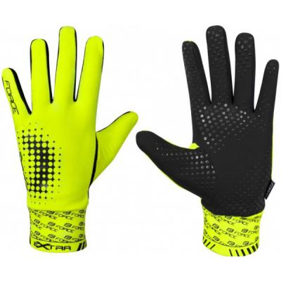 rukavice Force Extra fluo