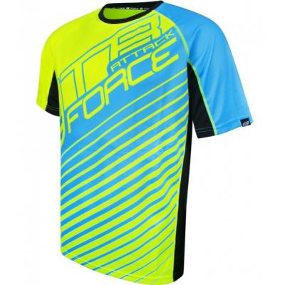dres Force BEST ATTACK fluo-modrý