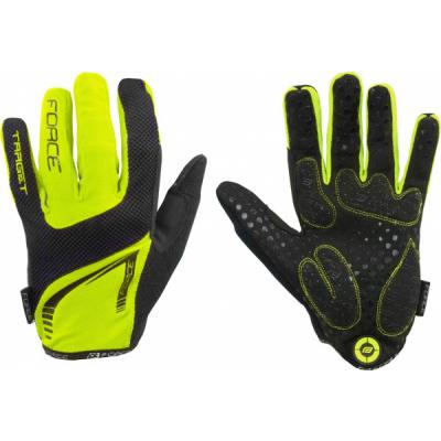 rukavice Force Target fluo
